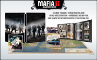 Contents of the Mafia II Collector's Edition