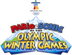 Mario & Sonic at the Olympic Winter Games game logo
