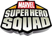 Marvel Super Hero Squad game logo