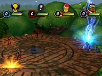 4-player multiplayer action from Marvel Super Hero Squad