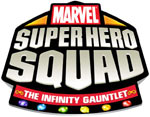 Marvel Super Hero Squad: The Infinity Gauntlet game logo