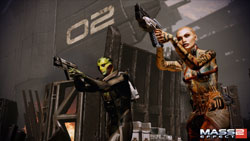 New characters from Mass Effect 2