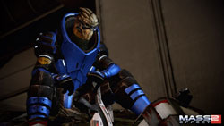 The Turian Garrus Vakarian from Mass Effect 2