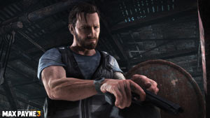 Max loading a bullet into the chamber in Max Payne 3