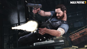 Max dual-wielding in Max Payne 3