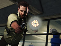 An example of Bullet time from Max Payne 3