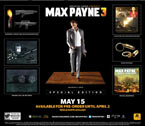 Max Payne 3: Special Edition Box Contents