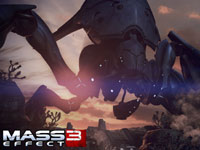 A giant enemy from Mass Effect 3