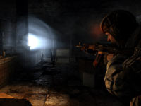 Using a light in the dark places in Metro: Last Light