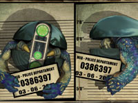 An alien mugshot Men In Black: Alien Crisis