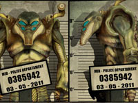 Mugshot of an Adorian from Men In Black: Alien Crisis