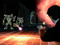 Taking a shot at two attacking Adorians from behind cover in Men In Black: Alien Crisis