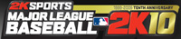 MLB 2K10 game logo