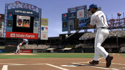 Jose Reyes swing for the fence in MLB 2K10