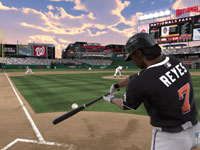 Slapping the ball to left field in MLB 12 The Show
