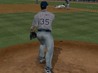 Picking off a runner in MLB 2K11