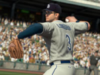 All-star Tampa Bay thirdbaseman Evan Longoria in MLB 2K11