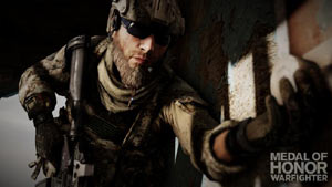Tossing a grenade in Medal of Honor: Warfighter