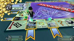 The Get Rich Quick game mode from 'Monopoly Here and Now: the World Edition' for Wii