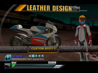 Bike and rider customization options in MotoGP 09/10