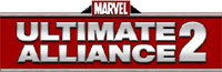 'Marvel Ultimate Alliance 2' game logo