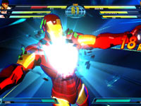 Cutscene featuring Iron Man from Marvel vs. Capcom 3: Fate of Two Worlds