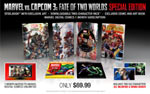 Marvel vs. Capcom 3: Fate of Two Worlds Special Edition box contents