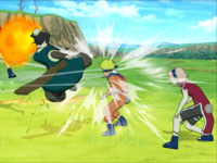 Multiplayer action in Naruto Shippuden: Ultimate Ninja Storm Generations