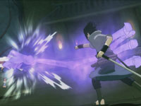 Using a special ability in Naruto Shippuden: Ultimate Ninja Storm Generations