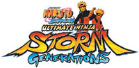 Naruto Shippuden: Ultimate Ninja Storm Generations game logo