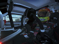 Image of driver in-cockpit from NASCAR The Game 2011