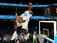 Dwight Howard throwing one down in NBA JAM