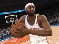 Handling the ball at half-court in NBA Live 13