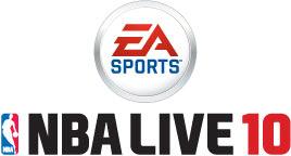 'NBA LIVE 10' logo