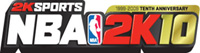 Nba 2K10 game logo
