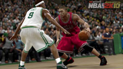 Making the Celtic Rajon Rondo play some D in NBA 2K10