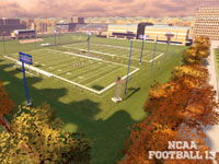 Practice fields in NCAA Football 13