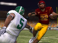Running the ball in 'NCAA Football 10'