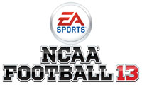 NCAA Football 13 game logo