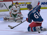 Online game support in 'NHL 2K10'