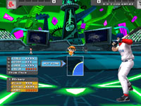 A pitcher-hitter battle in Nicktoons MLB
