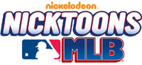 Nicktoons MLB game logo