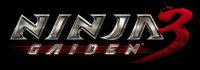 Ninja Gaiden 3 game logo