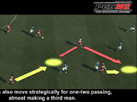 An explanation of strategic two-way passing from Pro Evolution Soccer 2012