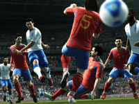 Sharp, dramatic graphics from Pro Evolution Soccer 2012