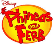 Disney Phineas and Ferb game logo
