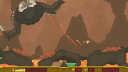 Pixeljunk Shooter screen 1