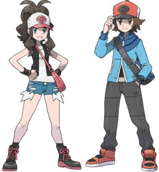 Players' choice of female and male Trainers in Pokémon Black and Pokémon White