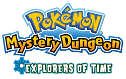 Pokemon Mystery Dungeon: Explorers of Time Logo