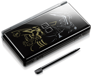 Pokémon-themed Nintendo DS handheld game system